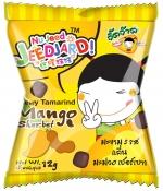 """JeedJard"" Chewy Tamarind Mango Sherbet 12gm."